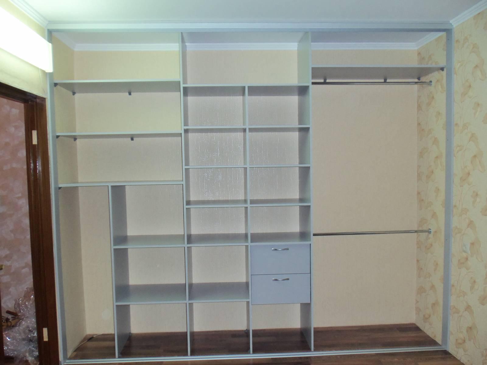Наполнение шкафа купе - тамбов-мебель.
